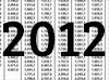 Die Gehaltstabellen 2012