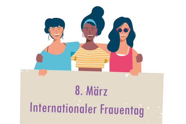 110. Internationaler Weltfrauentag: Frauen am Limit
