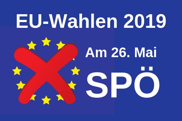 EU-Wahl am 26. Mai 2019: GewerkschafterInnen machen den Unterschied!