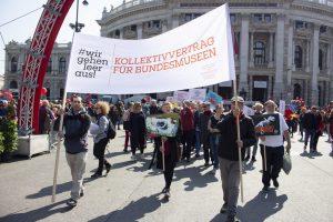 20 Jahre KHM-Kollektivvertrag: Wir fordern einen KV für alle Bundesmuseen und die Nationalbibliothek!