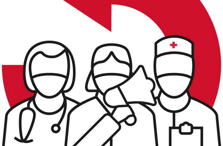 Aufruf zur Mobilisierung – Pflege- und Gesundheitspersonal